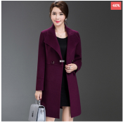 Double-lined Wool Coat
